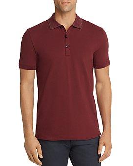 HUGO - Dinos Glitter-Collar Slim Fit Polo Shirt