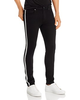 J Brand - Mick Skinny Fit With Reflective Stripe - 100% Exclusive