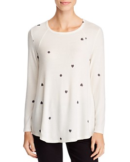 B Collection by Bobeau - Kyle Cozy Printed Top