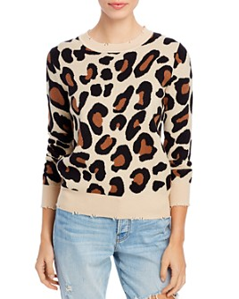 Elan - Leopard-Print Sweater