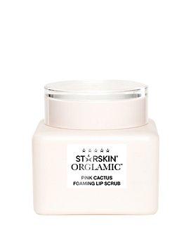 STARSKIN - Orglamic Pink Cactus Foaming Lip Scrub 0.5 oz.