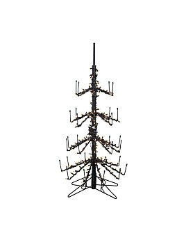 Gerson Company - 4 ft. Wine Bottle Tree with Clear Lights