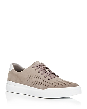 Men's GrandPro Rally Laser-Cut Leather Low-Top Sneakers
