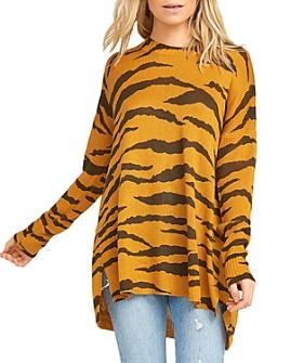 Show Me Your MuMu - Bonfire Tiger-Print Sweater