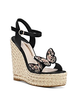 Sophia Webster - Women's Riva Butterfly Wedge-Heel Espadrille Sandals