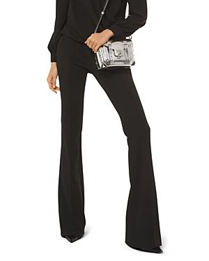 Michael Michael Kors Flared Twill Pants-Women