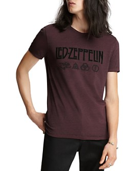 John Varvatos Collection - x Led Zeppelin Vintage Graphic Logo Tee
