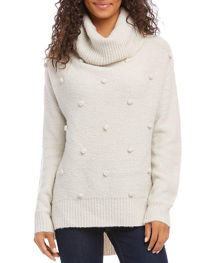 Karen Kane - Popcorn-Stitch Turtleneck Sweater