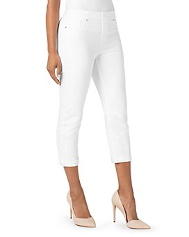 Liverpool Los Angeles - Chloe Slim Capri Jeans in Bright White