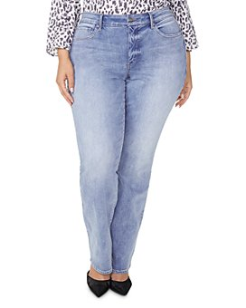 NYDJ Plus - Marilyn Straight-Leg Jeans in Biscayne
