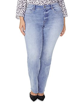 NYDJ Plus - Marilyn Straight-Leg Jeans in Biscayne