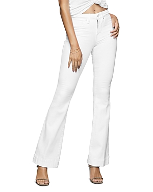 Good American Good Flare Jeans in White001-Women