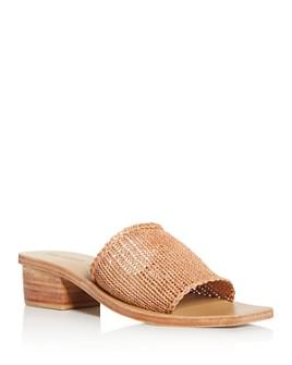 St. Agni - Women's Celina Knit Bock-Heel Sandals
