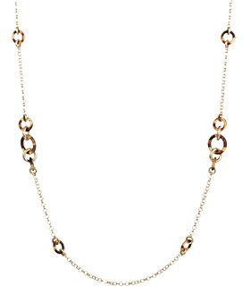 Ralph Lauren - Link Station Necklace, 42""