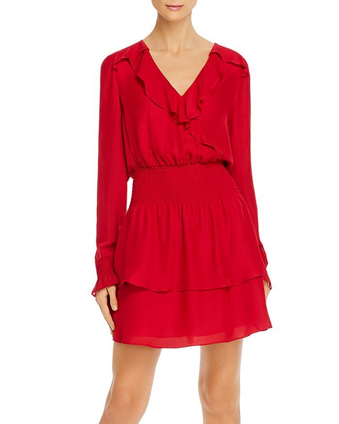 Parker - Maisy Smocked Tiered-Hem Dress