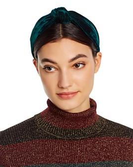 AQUA - Velvet Knot Headband - 100% Exclusive