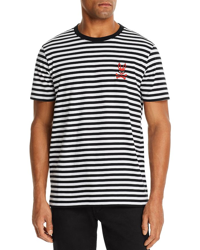 Psycho Bunny - Striped Logo Tee - 100% Exclusive