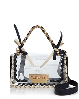ZAC Zac Posen - Earthette Clear Shoulder Bag