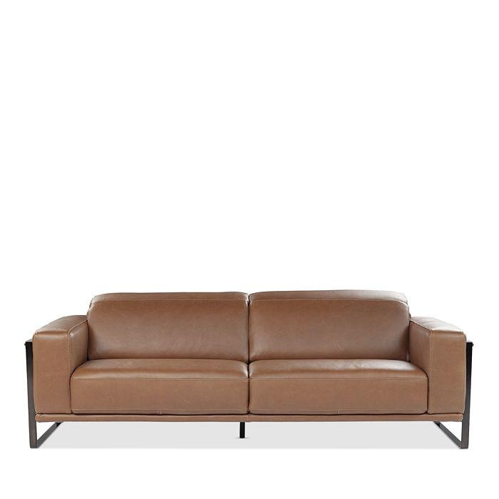 Giuseppe Nicoletti Bari Leather Sofa 100 Exclusive In Terra Modesens