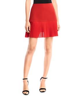 Bailey 44 - Samantha Pleated-Hem Mini Skirt