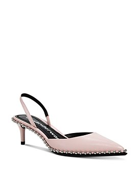 Alexander Wang - Women's Rina Crystal Slingback Pumps