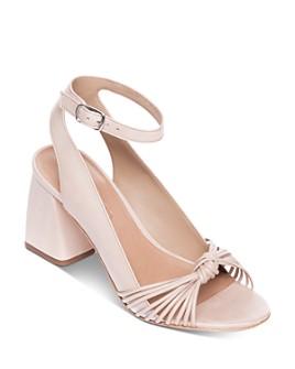 Bernardo - Women's Nadia Ankle Strap Chunky-Heel Sandals