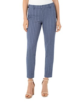 Liverpool Los Angeles - Kelsey Striped Knit Pants
