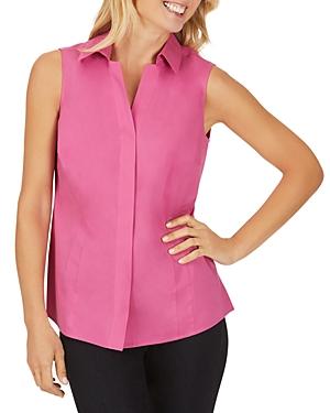 Foxcroft Taylor Sleeveless Non-Iron Stretch Shirt-Women