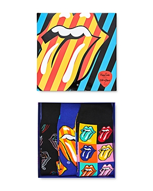 Happy Socks Rolling Stones Gift Box - Pack of 3