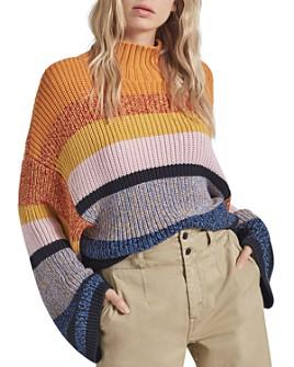 Current/Elliott -  Soleil Striped Sweater