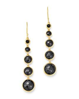 IPPOLITA - 18K Yellow Gold Lollipop® Lollitini Onyx Drop Earrings