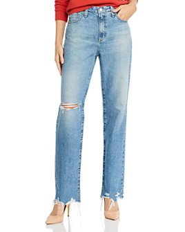 AG - Alexxis High-Rise Straight Vintage Jeans in 1990 Hero