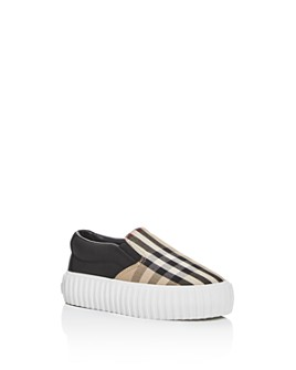 Burberry - Unisex Erwin Slip-On Sneakers - Walker, Toddler