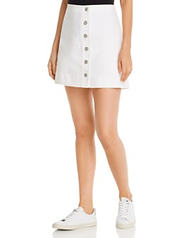Tommy Bahama - Ella Button-Front Denim Mini Skirt