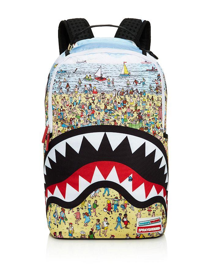 Sprayground - Boys' Where's Waldo Shark Backpack