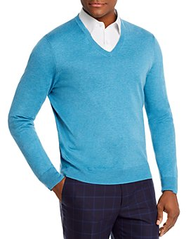 Brooks Brothers - V-Neck Sweater