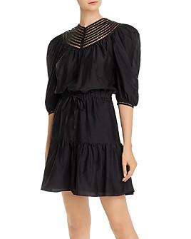 Joie - Mishika Puff-Sleeve Blouson Dress