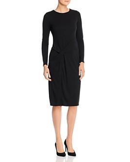 Donna Karan - Side-Ruched Dress