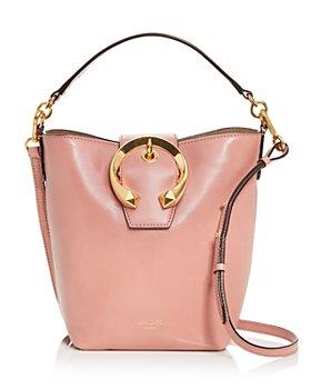Jimmy Choo - Madeline Leather Bucket Bag