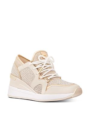 Michael Michael Kors Women's Liv Mid-Top Sneakers