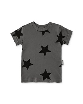 NUNUNU - Boys' Star Print Tee & Star Print Lounge Pants Set - Little Kid