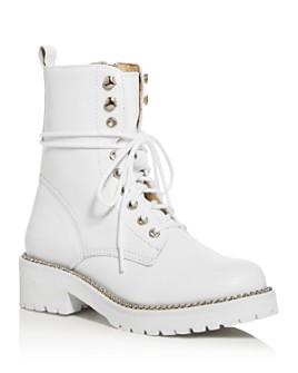 AQUA - Women's Jax Combat Boots - 100% Exclusive