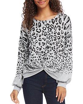 Karen Kane - Leopard Print Twisted Top