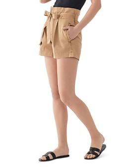 DL1961 - Camile Paper-Bag-Waist Shorts