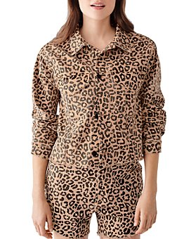 DL1961 - Clyde Leopard-Print Jacket