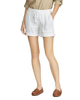 Ralph Lauren - Drawcord Linen Shorts