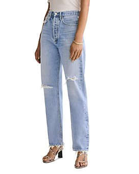 AGOLDE - 90's Straight Jeans in Captured