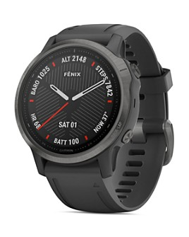 Garmin - Fenix 6S Silicone Strap Smartwatch, 42mm