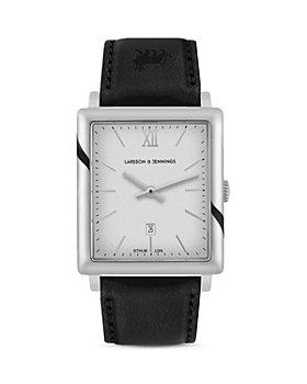 Larsson & Jennings - LJXII Norse Leather Strap Watch, 40mm