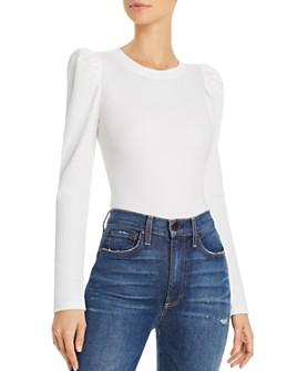 AQUA - Puff-Sleeve Bodysuit - 100% Exclusive